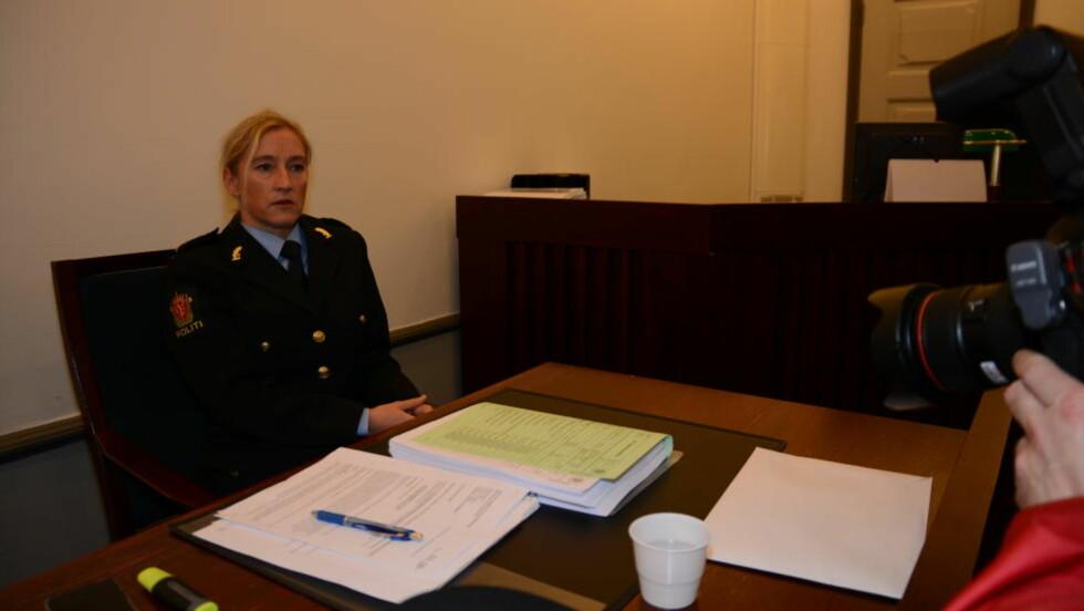 SKAL FÅ 30-ÅRINGEN FENGSLET: Politiadvokat Sidsel Isachsen vil ha fire ukers fengsling for den trippeldrapssiktede 30-åringen. Foto: Ralf Lofstad / Dagbladet