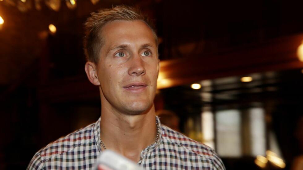 VIL PÅ LANDSLAGET: Morten Gamst Pedersen har ikke vært med på landslaget den siste tiden, men har ikke gitt opp å komme tilbake for Norge. Foto: Håkon Mosvold Larsen / NTB scanpix