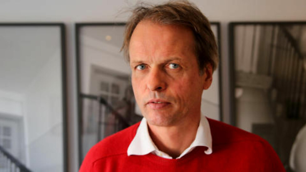 GIR UT BOKA: Erling Kagge. Foto: Pål Nordseth / Dagbladet