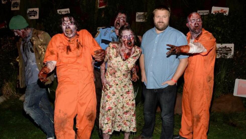 ZOMBIE-SUKSESS: Tegneserieskaper Robert Kirkman ble verdenskjent for å ha laget suksesserien «The Walking Dead». Foto: Scanpix