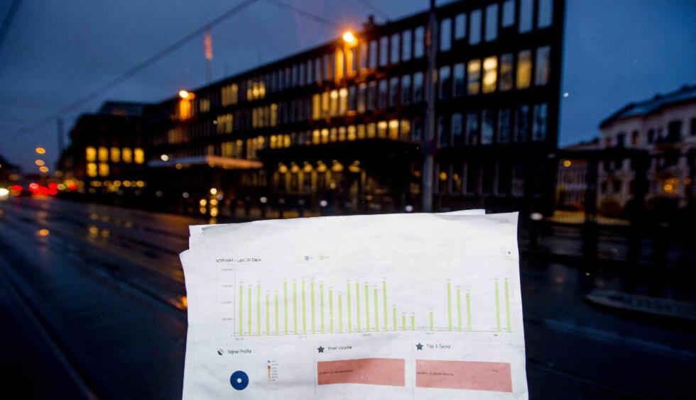 OVERVÅKET NORDMENN: Den amerikanske etterretningstjenesten NSA skal ha overvåket mer enn 33 millioner mobilsamtaler i Norge i en periode på 30 dager, ifølge nye Snowden-dokumenter som Dagbladet er i besittelse av. Foto:THOMAS RASMUS SKAUG