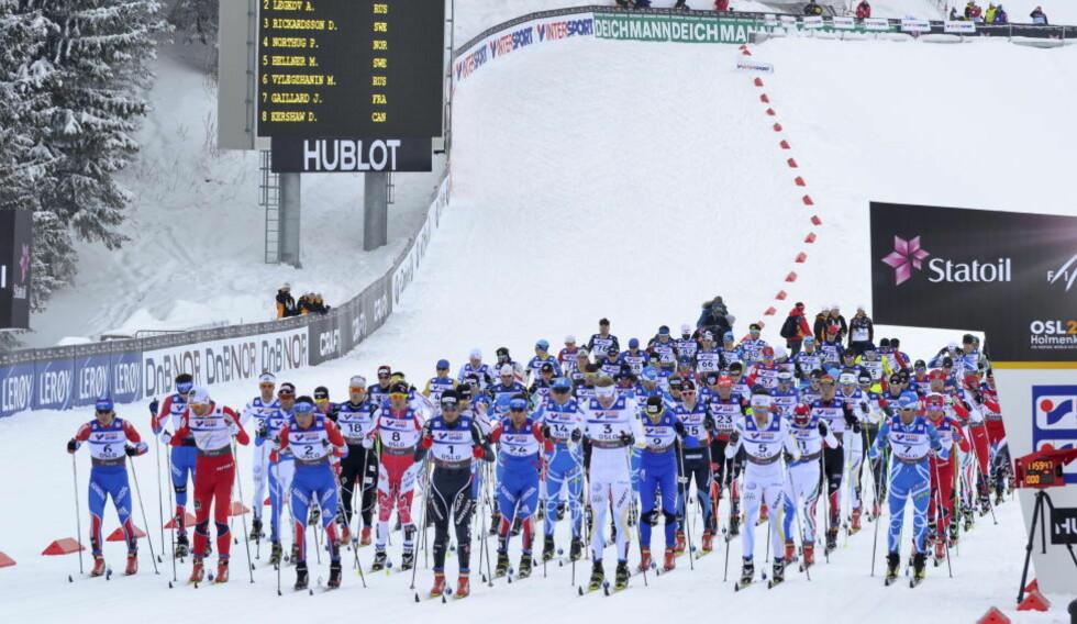 RUSSERNE FÅR NEPPE TESTE: Flere tusen OL-utøvere skal testet under lekene i Sotsji. Nå får trolig ikke russerne lov til å behandle dopingtestene selv om de er vertsnasjon. Foto: Per Løchen / Scanpix