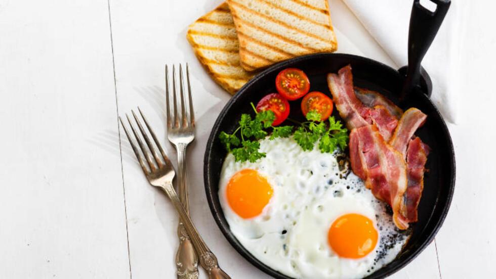 EGG: Egg er proppfulle av proteiner, vitaminer og mineraler som er bra for helsa, og er derfor perfekt å spise til frokost. Foto: FOTOLIA