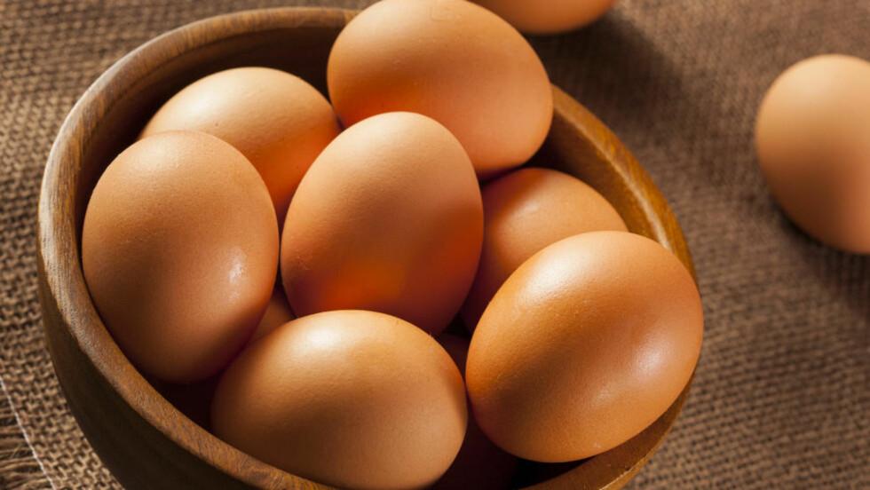 KOLESTEROL: Mange er skeptiske til å spise egg fordi de inneholder mye kolesterol, men ifølge eksperten er dette en myte som er på hell. Foto: BRENT HOFACKER - FOTOLIA
