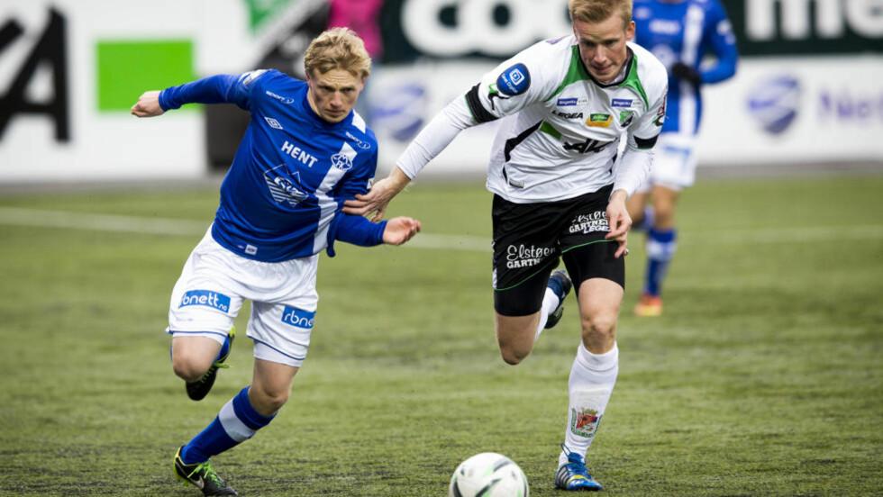 CUPFINALEKLAR: Moldes Mats Møller Dæhli gleder seg til finalen. Foto: Erlend Aas / NTB scanpix