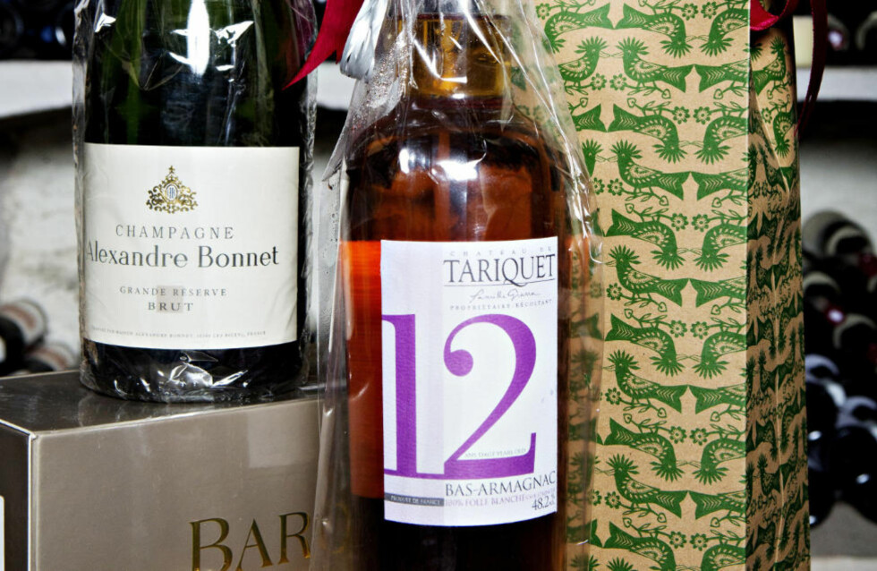 TIL DEN VINGLADE: Kjøp en god vin til den som har alt. Her er ekspertrådene til hvilke flasker du trygt kan legge under juletreet. Foto: NINA HANSEN