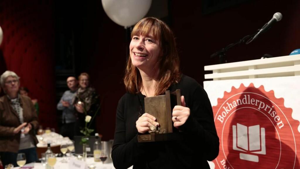 FIKK BOKHANDLERPRISEN: Cecilie Enger er årets favoritt blant norske bokhandlere. Foto: Nina Hansen / Dagbladet