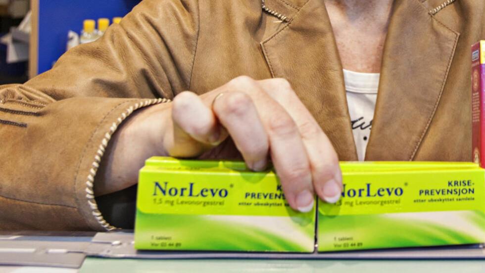 IKKE OVER 80 KILO: Pakningsbeskrivelsen av angrepillen NorLevo må nå endres. Foto: Torbjørn Berg / Dagbladet