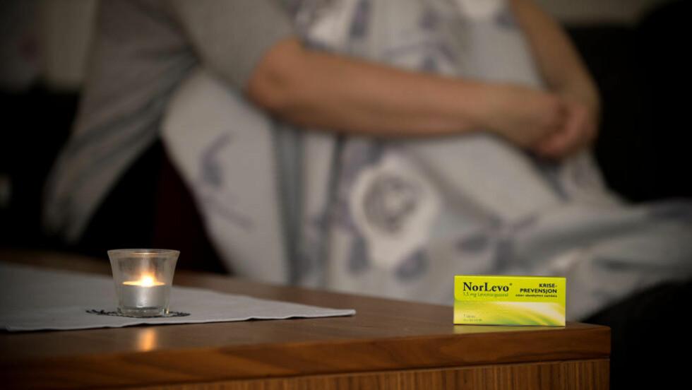 MÅTTE TA ABORT: Kristin (29) måtte ta abort da angrepillen fra NorLevo sviktet henne. Hun ante ikke at pillen ikke ville virke på grunn av vekta hennes.  Foto: Øistein Norum Monsen / DAGBLADET