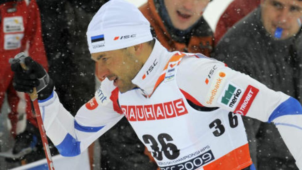 TATT, MEN FRIKJENT: Veerpalu ble først tatt, så frikjent for doping. Foto: AP Photo/Jens Meyer/NTB Scanpix