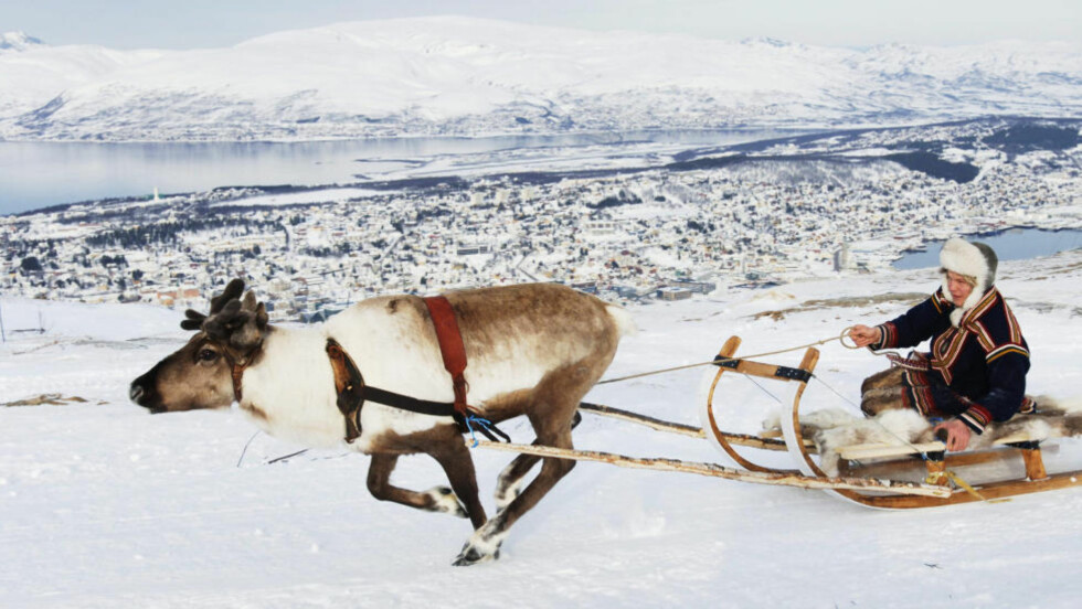 TROMSØ: Kåret til en av verdens ti beste byer for vinteropplevelser. Foto: INGUN A. MÆHLUM
