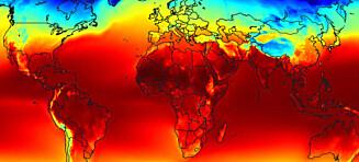 - Den globale oppvarmingen har ikke tatt en «pause»