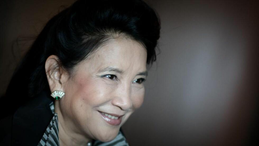 """JUNG CHANG: Hun ble verdensberømt for boka """"Ville svaner"""", har skrevet nidportrett av Mao og når reinvasket Kinas """"onde enkekeiserinne"""".Foto: AFP / NTB Scanpix"""