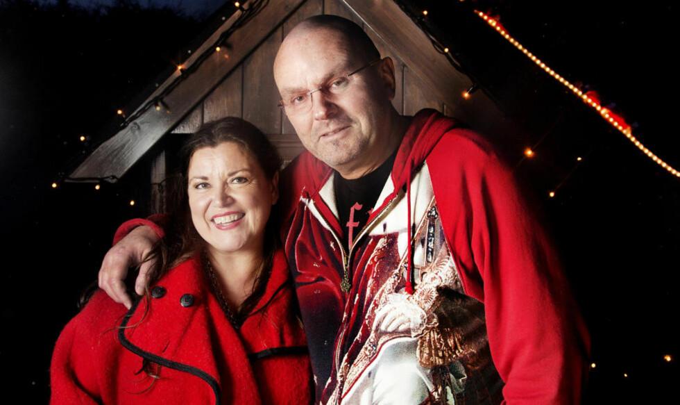 LYS I MØRKETIDA:  Einar Gelius og Jenny Jenssen skal på juleturné. Foto: AGNETE BRUN