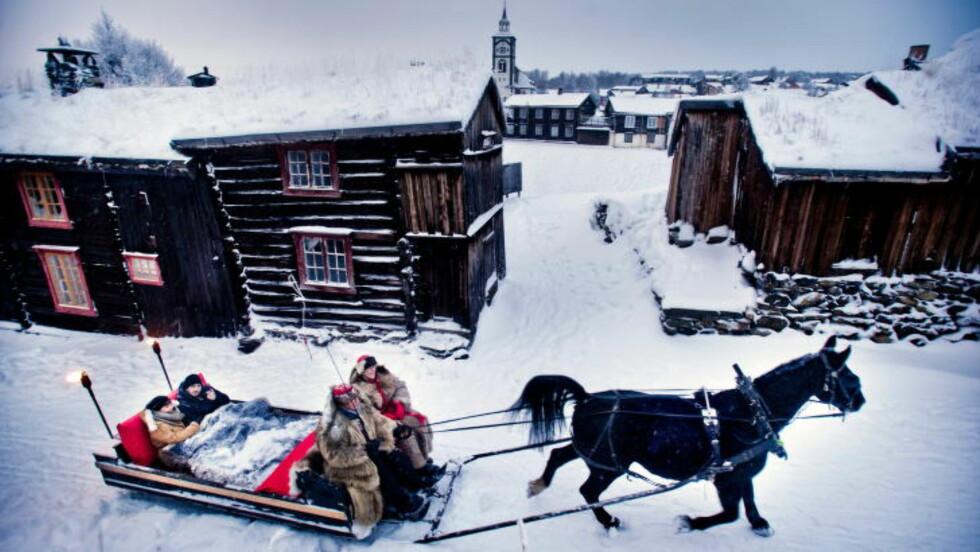 RØROS:  Jul på Røros i fjor. Foto: THOMAS RASMUS JUELL SKAUG