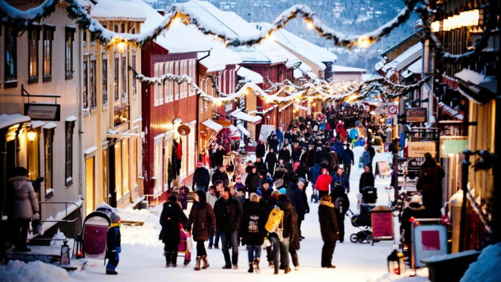 RØROS:  Norges eneste bergstad får toppomtale i britiske aviser før jul. Foto: THOMAS RASMUS JUELL SKAUG