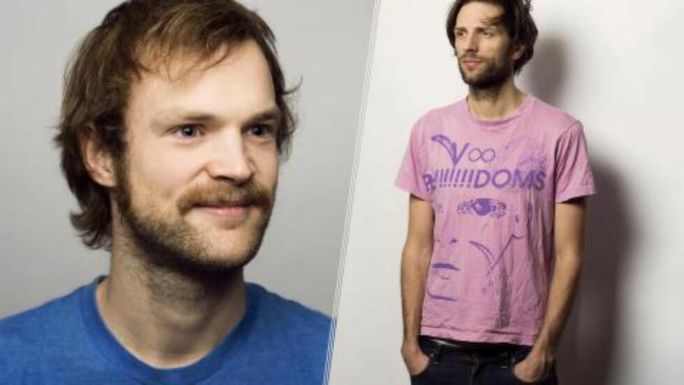 I TOSPANN: Todd Terje (t.v.) og Lindstrøm har sammen laget årets beste norske låt. Foto: Ivar Kvaal / promo.
