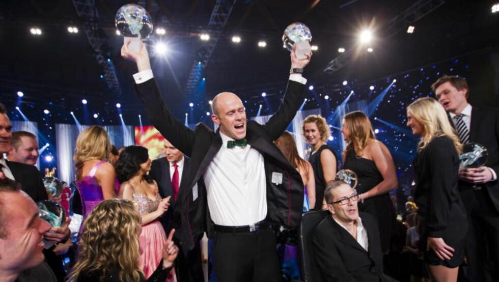 TIL TOPPS: Padleren Eirik Verås Larsen ble kåret til «Årets mannlige utøver» i fjor. Foto: Vegard Grøtt / NTB scanpix