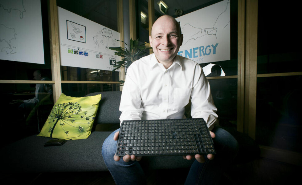 RIK PÅ CHIPS: IT-gründer Geir Førre (47) slo seg opp på å utvikle mikrochips. Begge selskapene hans ble solgt for over en milliard kroner hver. Foto: Bjørn Langsem / Dagbladet