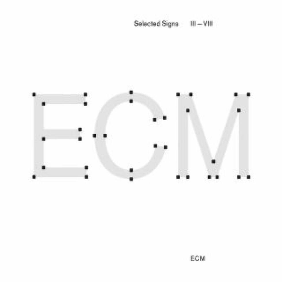 ECM: «Selcted Signs III-VIII».