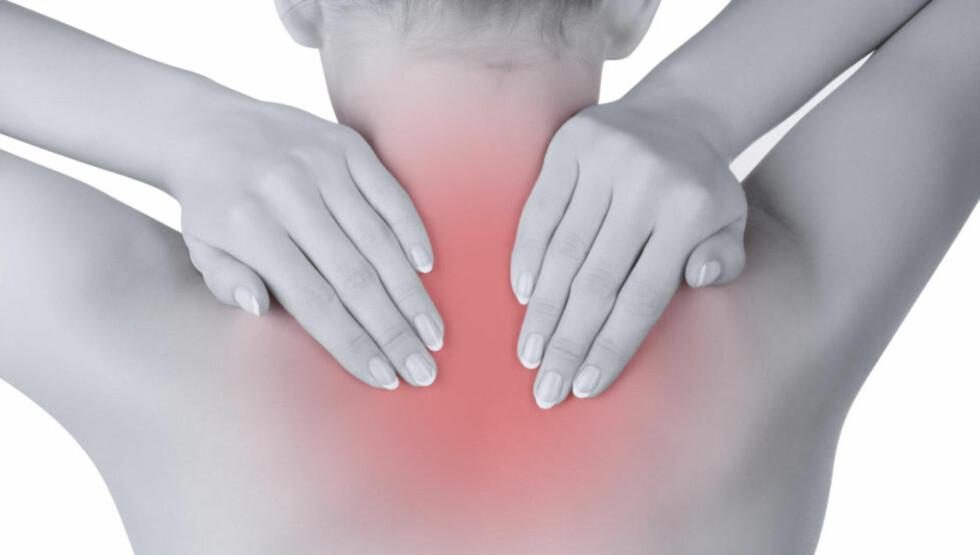 VONDT I RYGGEN? Søvnplager kan bidra til muskel- og skjelettplager frarygg, skuldrer og nakke, viser ny forskning. Illustrasjonsfoto: COLOURBOX