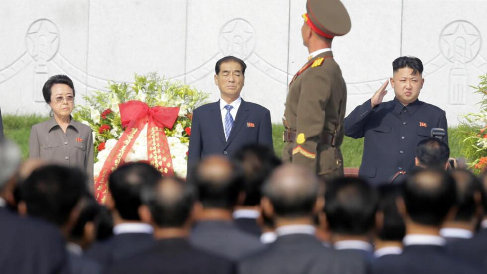 RYKKER OPP: Det ble spekulert i om Jangs kone, Kim Kyong-hui, også ville få samme behandling av den unge lederen, men nå ser det altså ut som om hun klarer seg. Det kan også virke som om hennes posisjon er sterkere enn den var. Foto: REUTERS/Jason Lee/Files