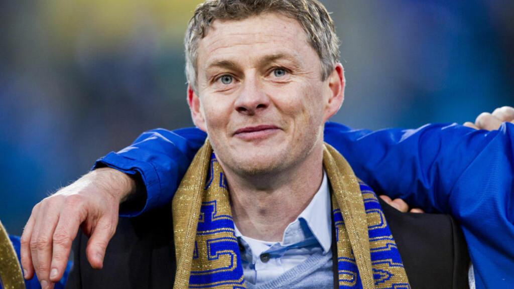 TIL ENGLAND?: Molde-trener Ole Gunnar Solskjær lanseres som WBAs førstevalg. Foto: Vegard Grøtt / NTB scanpix