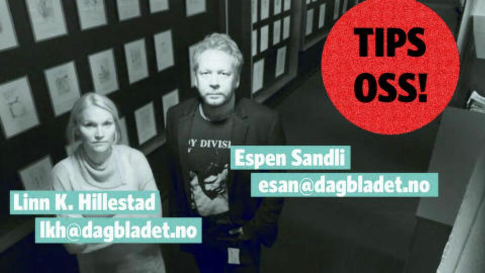 Contact us: nullctrl@dagbladet.no