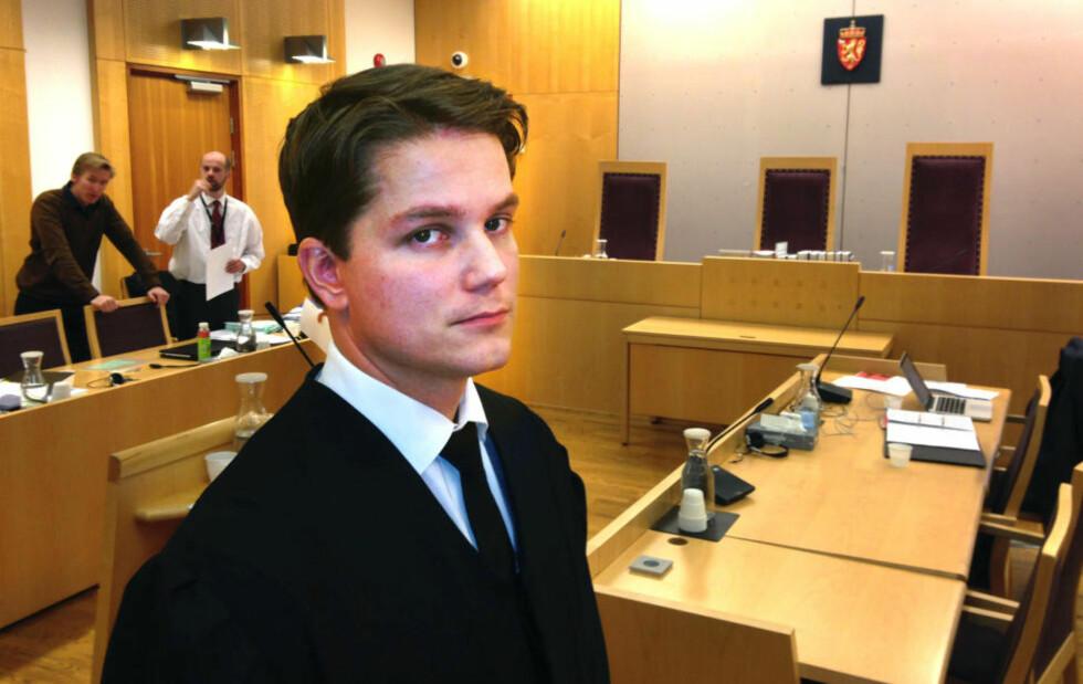 ANKER IKKE: Barnefarens forsvarer Olle Nohlin opplyser at klienten ikke vil anke tingrettsdommen, av praktiske årsaker. Foto: ØYSTEIN ANDERSEN / DAGBLADET