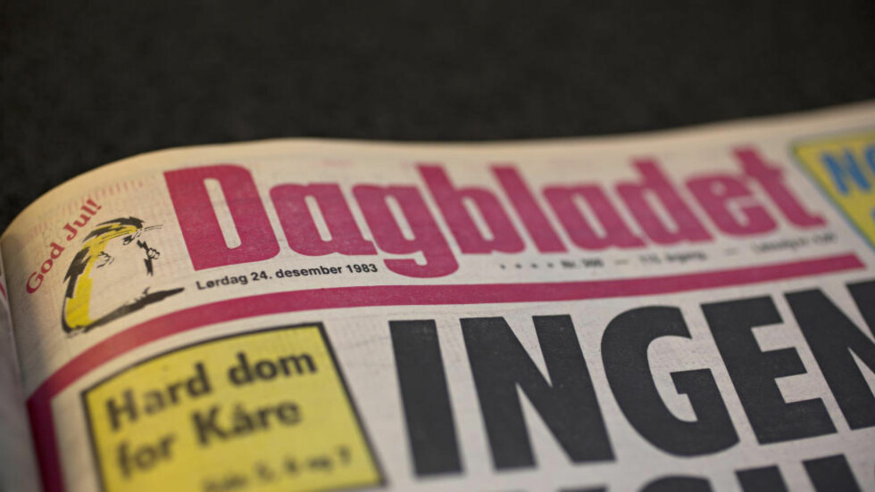 GOD JUL: Dagbladet gir deg en julefortelling om en tilfeldig julaften - julaften 1983. Faksimile: DAGBLADET