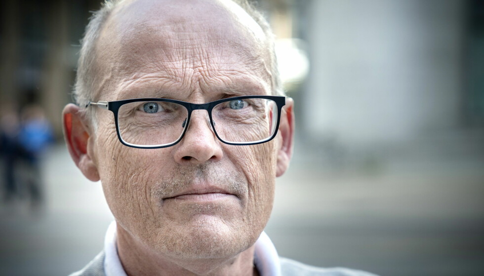 FORKLARTE SEG I RETTEN: Roar Juel Johannessen forklarte seg i retten i dago m 17 tøffe år. Foto: Øistein Norum Monsen / Dagbladet