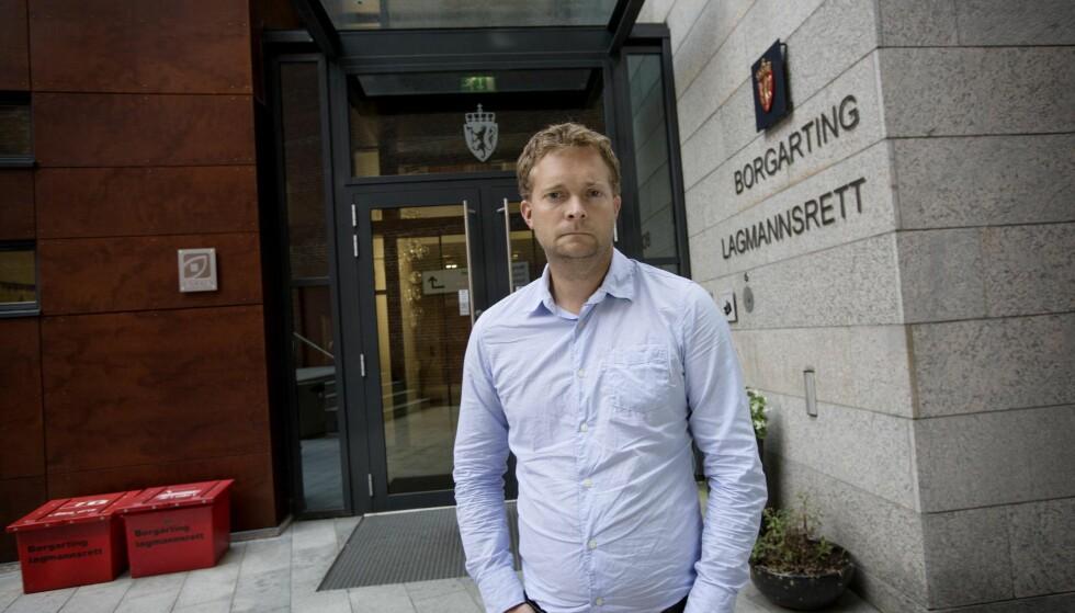BROR: Amund Gillebo, bror til drepte Anna Kristin Backlund Gillebo. Foto: Anita Arntzen / Dagbladet