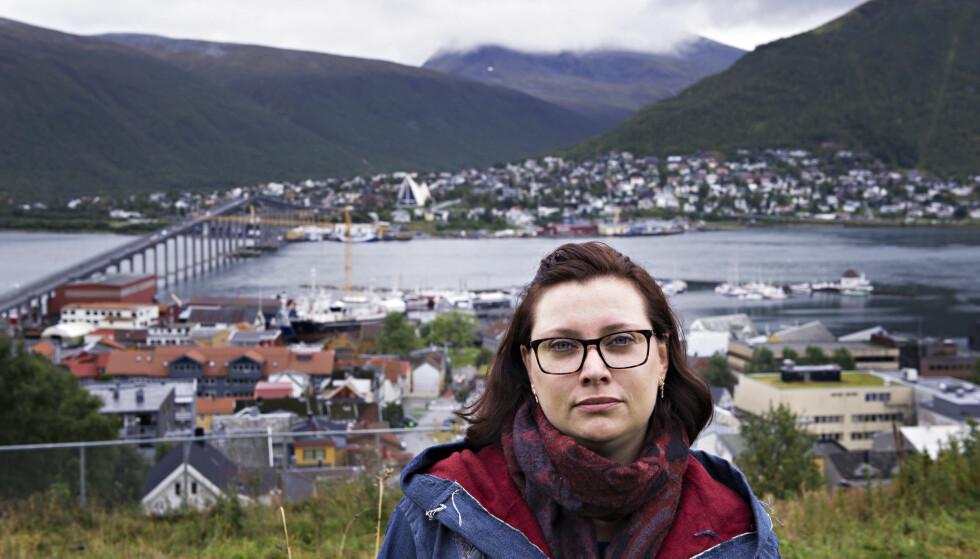 FORTVILET: Cecilia Andersen sitter igjen med 17.000 kroner i måneden å leve for etter at nye regler gir henne et stort kutt i uførepensjonen. Foto: Ingun A. Mæhlum