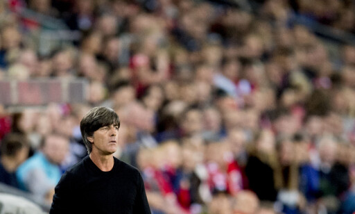 SELVSIKKER: Tysklands trener Joachim Löw. Foto: Jon Olav Nesvold / NTB scanpix