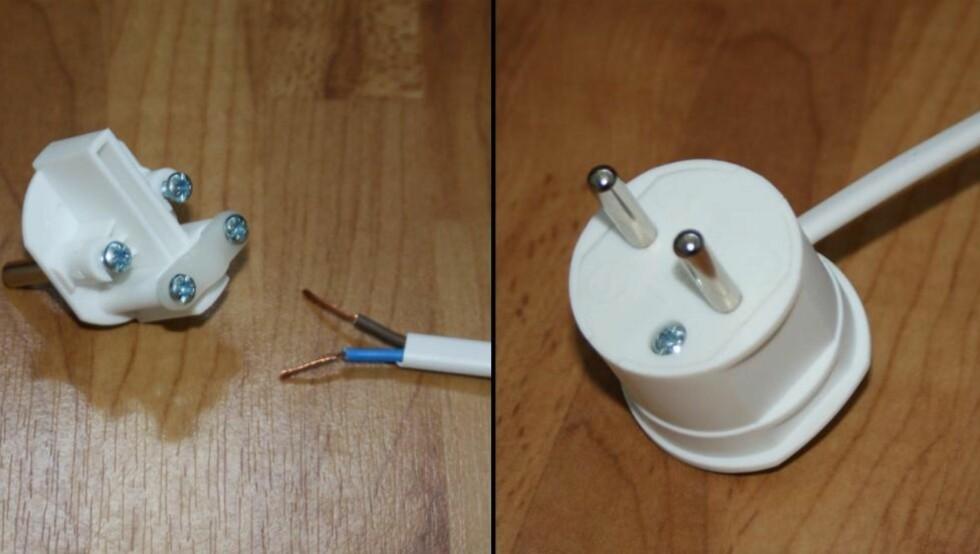 BYGG SELV: En ufaglært person har lov til å sette sammen støpsler og ledninger med brytere og koble dette til lamper ol.  FOTO: Gro Strømsheim