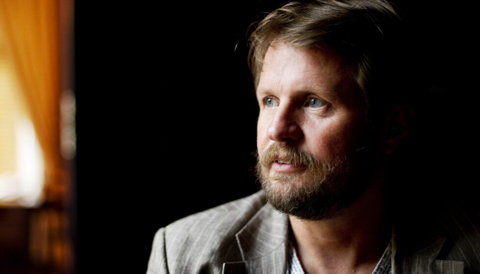 UTESTENGT: Forfatter Tom Egeland blokkeres fra å publisere Facebook-innlegg etter å ha delt et intervju med krigsofferet Kim Phuc. Foto: Håkon Mosvold Larsen / Scanpix