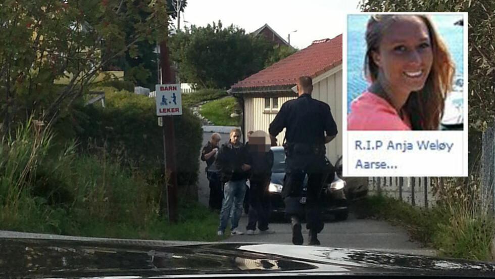MEDLEM AV MINNESIDEN: Den drapssiktede mannen skal ha trykket «like» på minnegruppa for Anja (21). Foto: Dagbladet-tipser / Facebook-skjermdump