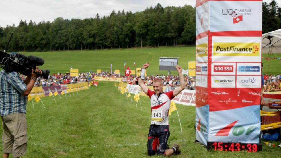 VM-GULL: Sommeren 2012 imponerte Olav Lundanes da han tok sitt langdistansegull nummer to. I sommer skulle han løpe for nytt gull, men droppet VM etter en langvarig konflikt med landslagsjefen. Foto: Jens O. Kløvrud