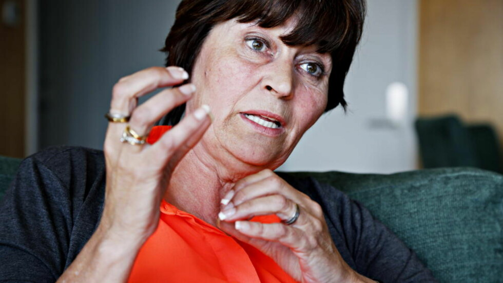 - PENSJONSADVARSEL:  LO-leder Gerd Kristiansen vil ha svar fra påtroppende statsminister Erna Solberg hvordan hun har tenkt  forholde seg til potensiell regjeringspartnmer Frp i pensjonsspørsmål. FOTO: JACQUES HVISTENDAHL/DAGBLADET.