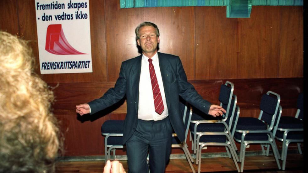 RETNINGSLØS: Da populismebegrepet kom tilbake i norsk politikk rundt valget i 1989, var det ikke bare Frps Carl I. Hagen det ble brukt om, skriver artikkelforfatteren. Foto: Odd Wentzel.