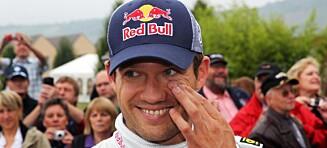 Franske Ogier sikret VM-tittelen i rally