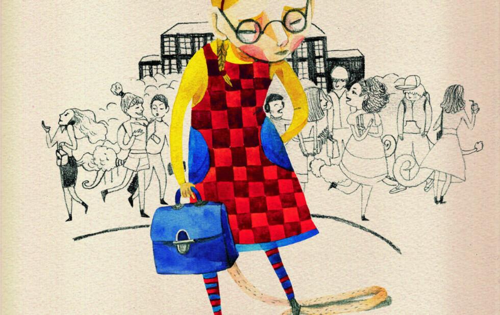 HALEBOK: Illustrasjonene har hovedrollen i boka «Halens historie».
