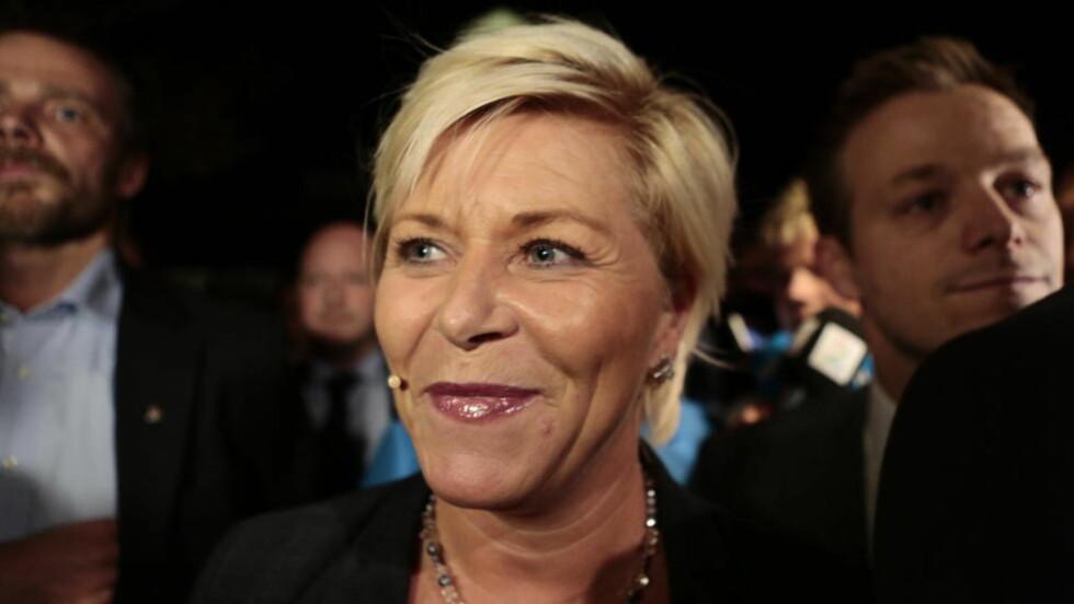 SKAL SETTE SPOR:  Det er tydelig at Frp har fått gjennomslag for mange av sine kampsaker i den nye regjeringen. Foto: Nina Hansen / Dagbladet