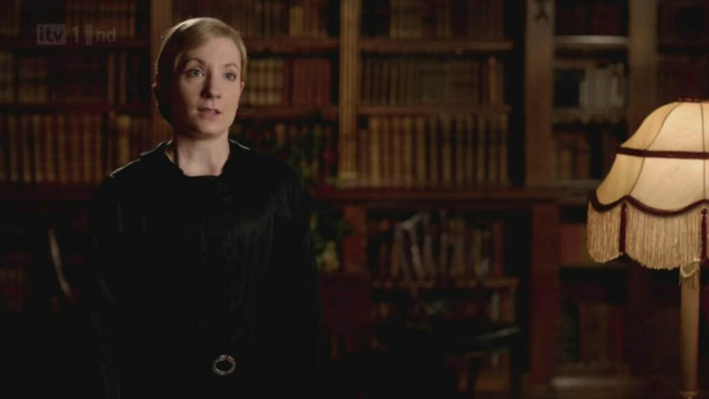 BLIR OVERFALT: I den tredje episoden av sesong fire av «Downton Abbey» blir hushjelpen Anna Bates offer for et brutalt overgrep, noe som har fått fansen til å rase. Foto: Stella Pictures