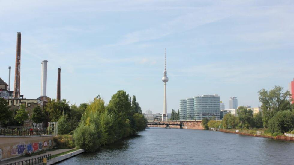 Berlinerblått: Berlin ligger på gammelt sumpland og har rikt med vann og vegetasjon, høydedrag er det verre med. Foto: Erle Marie Sørheim