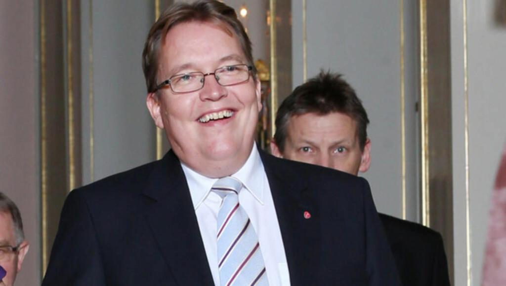 NATO-LEDER: Sverre Myrli (Ap) ble søndag valgt til leder av Komiteen for transatlantisk forsvars- og sikkerhetssamarbeid i Natos parlamentariske forsamling.  Foto: Håkon Mosvold Larsen / NTB scanpix