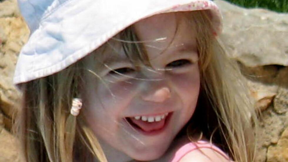 SAVNET: Madeleine McCann har vært savnet siden hun forsvant fra familiens feriested i Portugal i 2007. Foto: AFP Photo