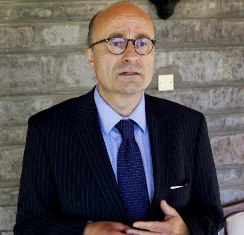 FRARÅDER SOMALIA-REISER:  Ambassadør Hans Brattskar ved Norges ambassade i Kenya fraråder norske borgere å reise til Somalia. FOTO: HENNING LILLEGÅRD/DAGBLADET.