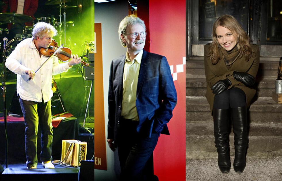 <strong>VELHOLDNE:</strong> Øyvind Staveland, Øystein Sunde og Lene Marlin har noen av popartist-Norges feteste bankkonti. Foto: DAGBLADET