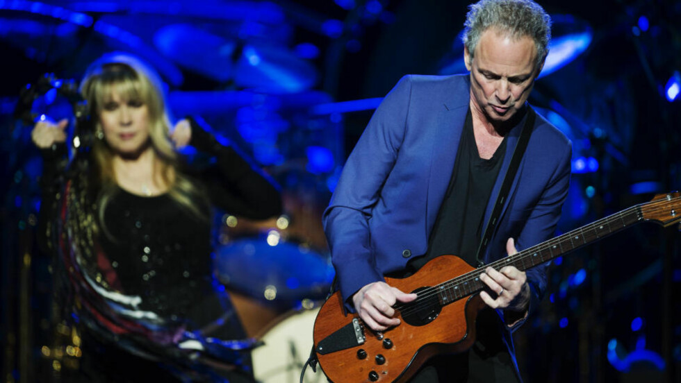 EKSPARET: Stevie Nicks og - i særdelesehet - Lindsey Buckingham hadde hovedrollene da Fleetwood Mac gestet Oslo i kveld. Foto: Benjamin A. Ward / Dagbladet
